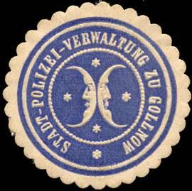 Stadt-Polizei-Verwaltung zu Gollnow