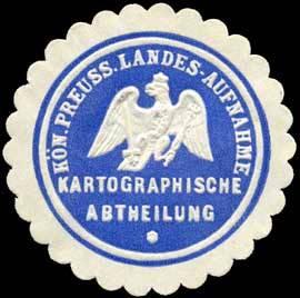 K.Pr. Landes - Aufnahme - Kartographische Abtheilung