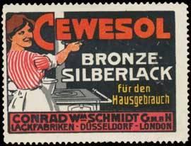 Cewesol Bronze Silberlack