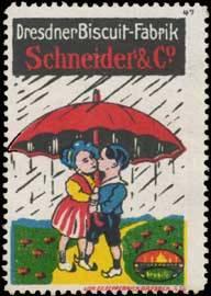 Kinder unterm Regenschirm