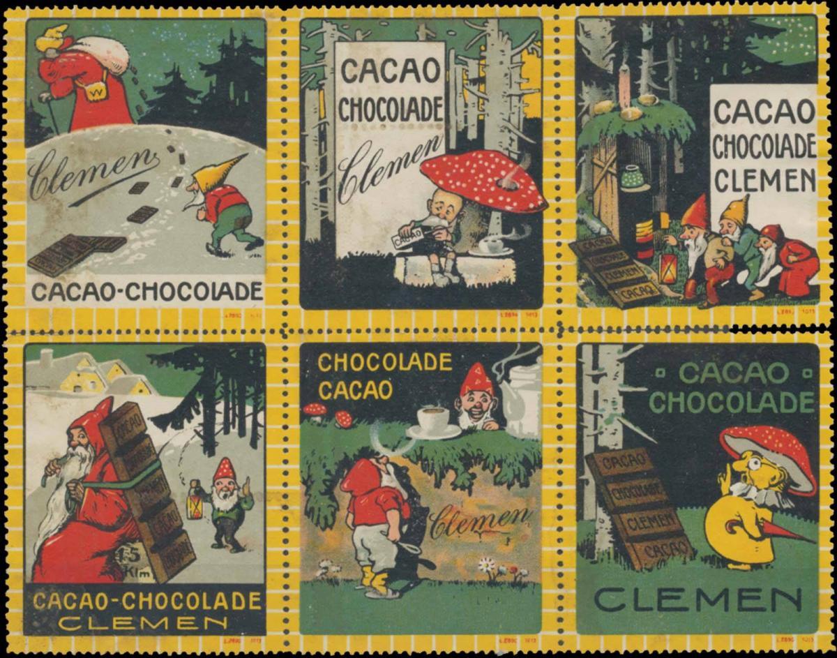 Sammlung Kakao & Schokolade Clemen