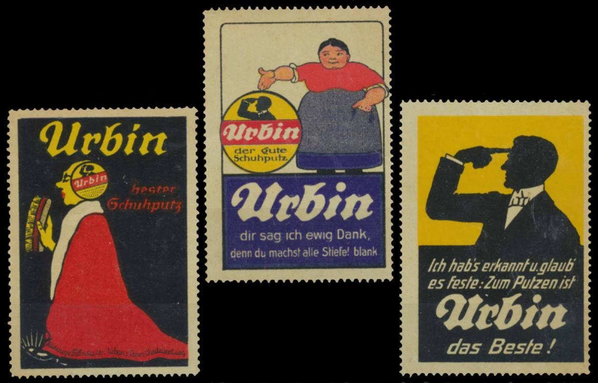 Urbin Schuhcreme Sammlung