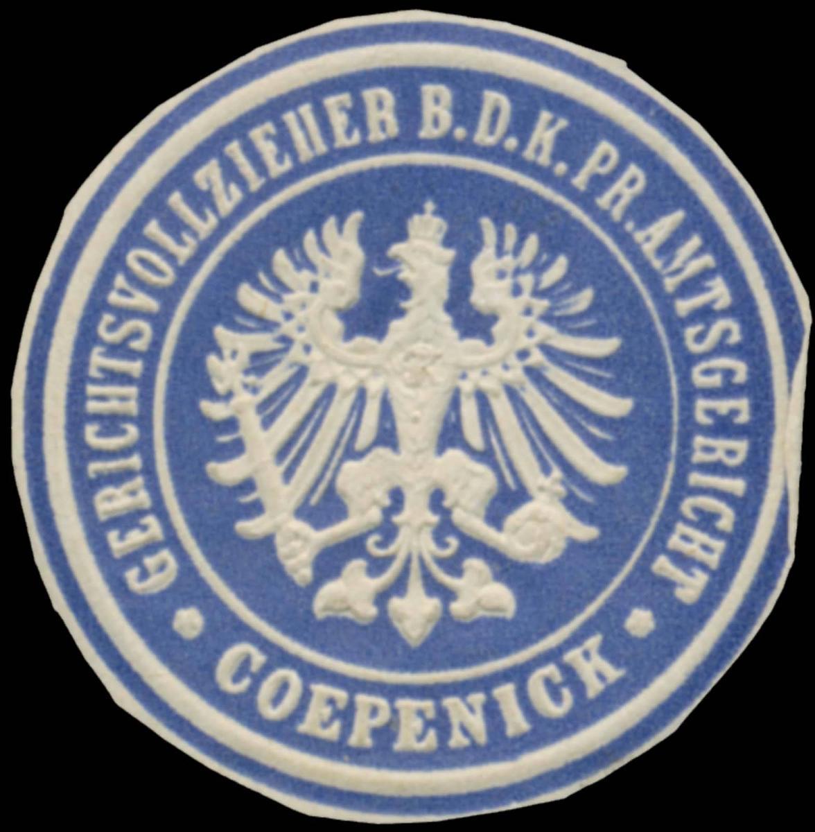 Gerichtsvollzieher b.d. K.Pr. Amtsgericht Köpenick