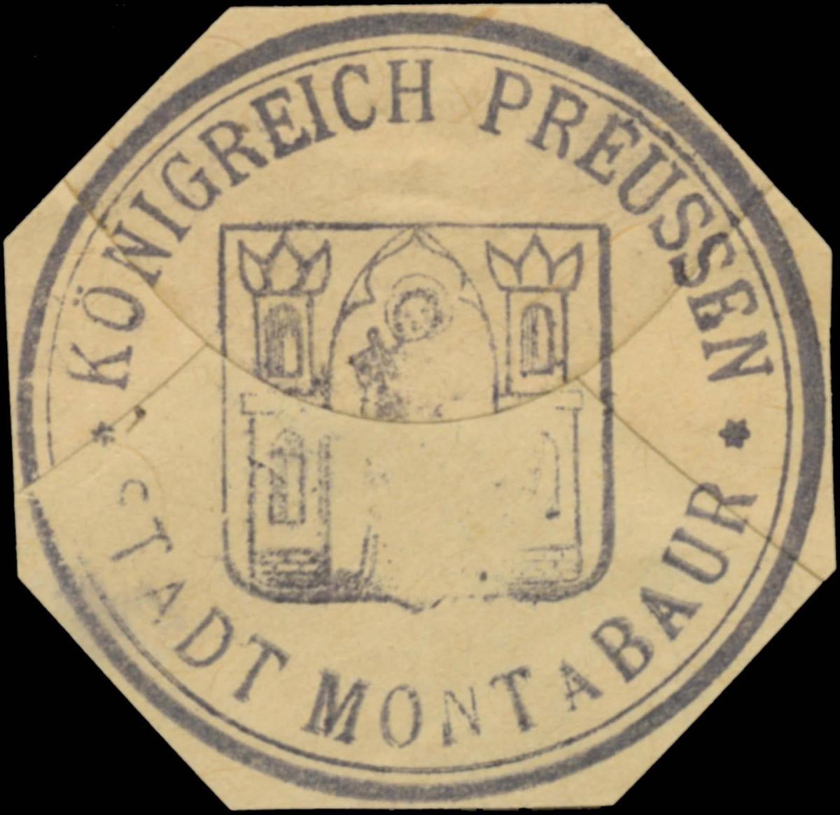 K. Pr. Stadt Montabaur