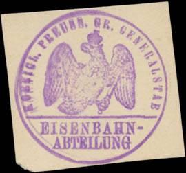 K.Pr. Gr. Generalstab Eisenbahn-Abtheilung