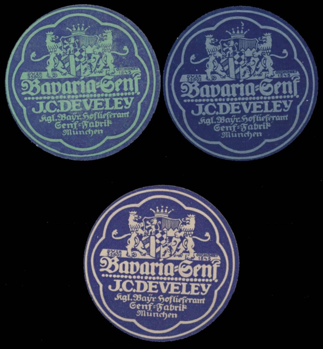 Bavaria Senf Sammlung
