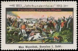 Französische Kavallerie-Attacke