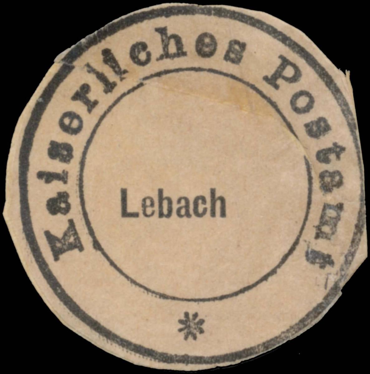 K. Postamt Lebach