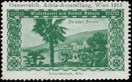 Winterkurort und Seebad Abbazia die österr. Riviera