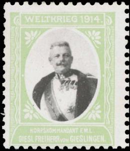 Korpskommandant Giesl Freiherr von Gieslingen