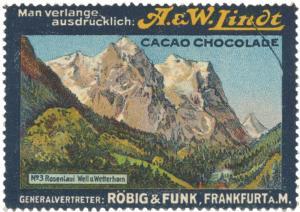 Rosenlaui Well und Wetterhorn