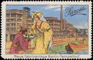 Fabrikansicht neue Fabrikanlage Berlin Tempelhof
