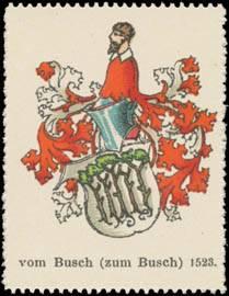 vom Busch (zum Busch) Wappen 1523