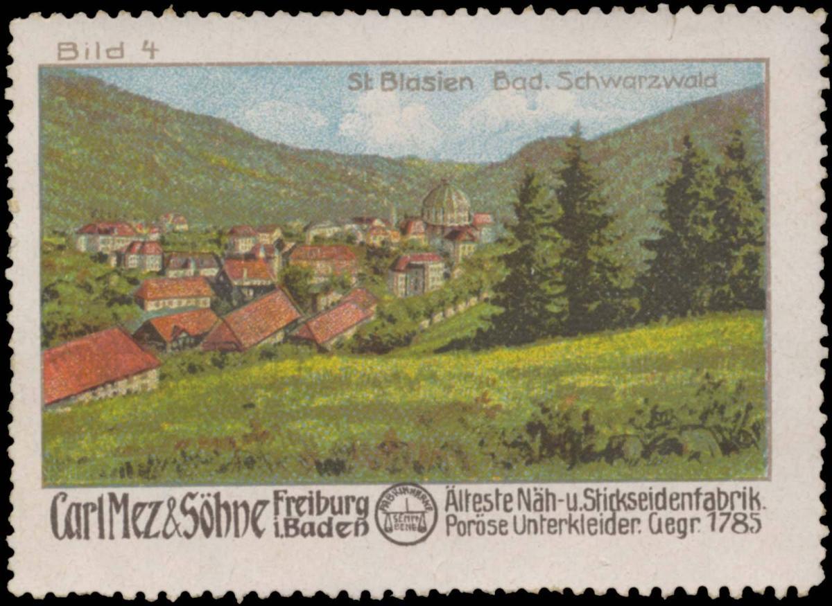 St. Blasien Bad. Schwarzwald