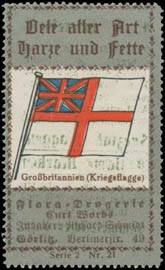 Kriegsflagge Großbritannien