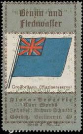 Marinereserve Flagge Großbritannien
