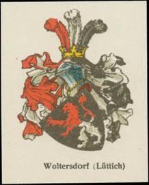 Woltersdorf (Lüttich) Wappen