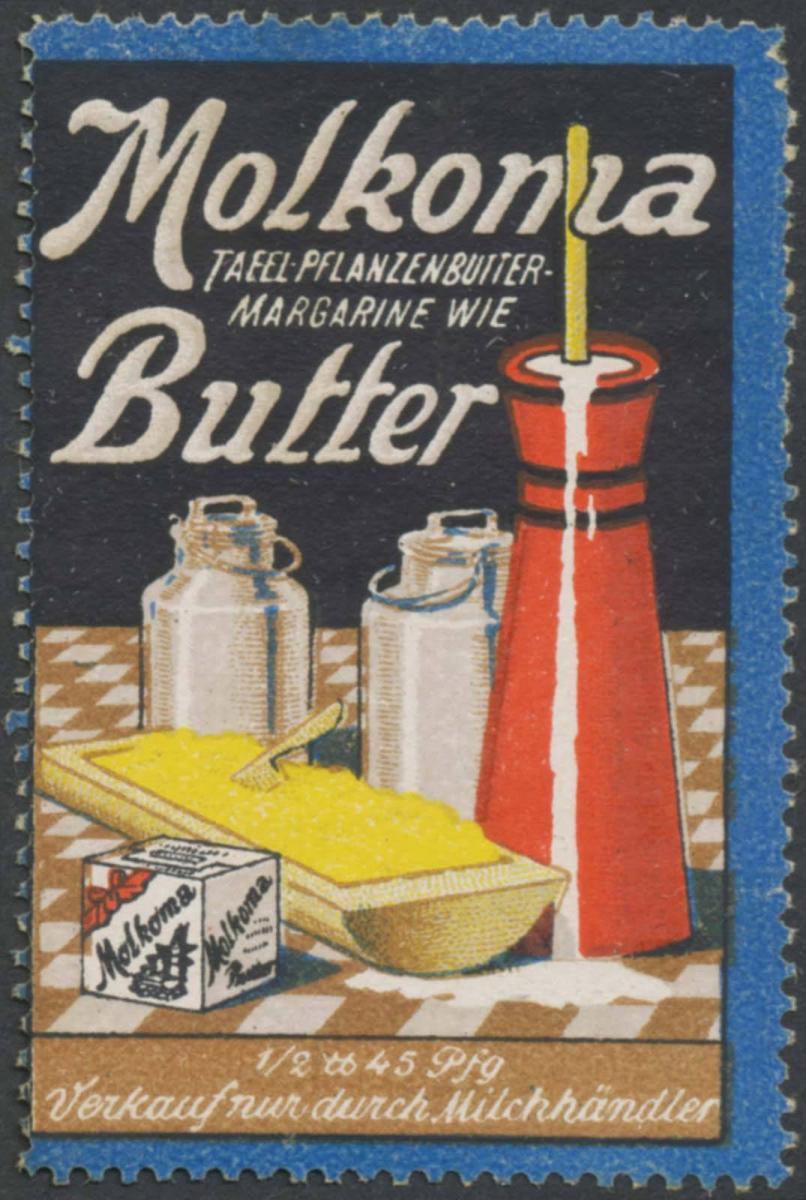 Molkoma Tafel-Pflanzenbutter-Margarine