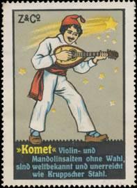 Komet Violin- und Mandolinsaiten ohne Wahl...