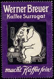 Elefant Kaffee Surrogat
