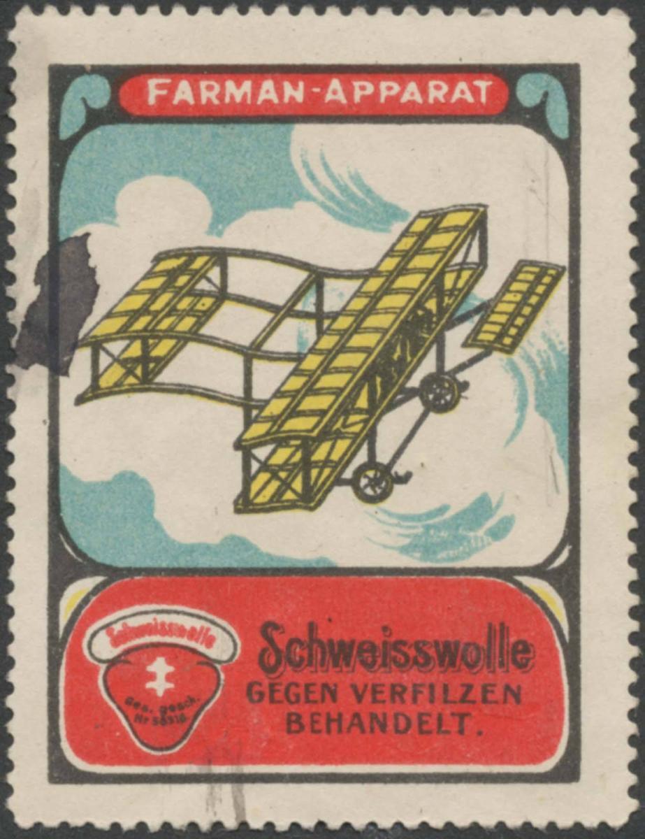 Farman-Apparat Flugzeug