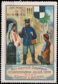 Post in Rumänien