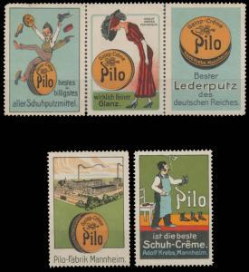 Pilo Schuhcreme Sammlung