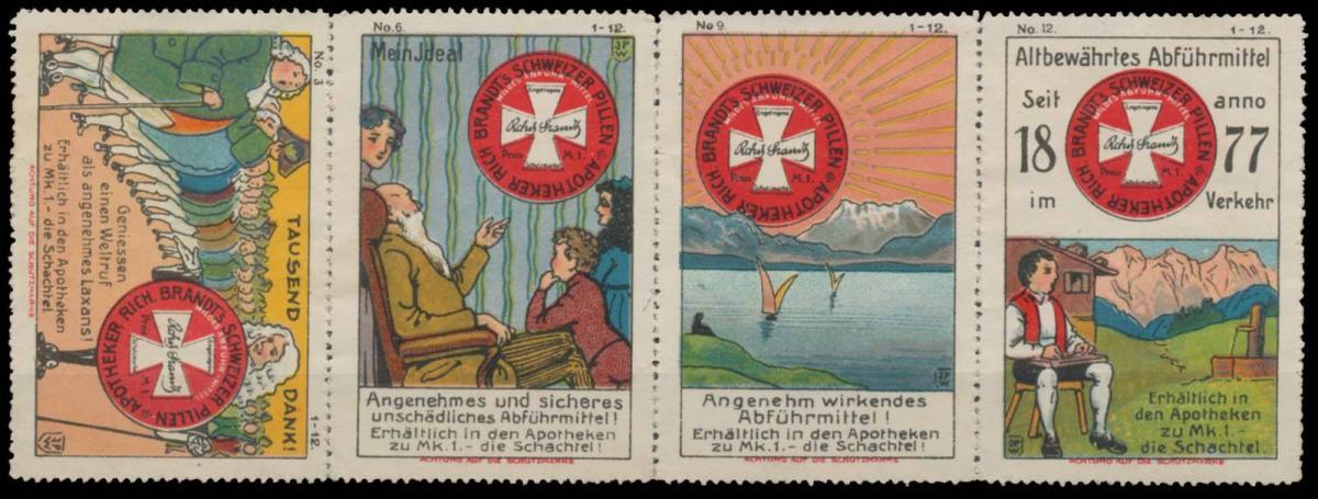 Schweizer Pillen Sammlung