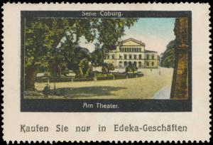Am Theater in Coburg