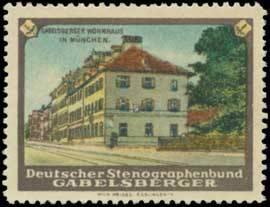 Gabelsberger Wohnhaus - Stenografie