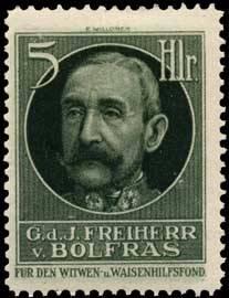 General der Infanterie Freiherr von Bolfras