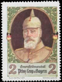 Generalfeldmarschall Prinz Leopold von Bayern