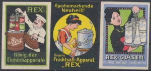 Rex Gläser & Einkochapparat Sammlung