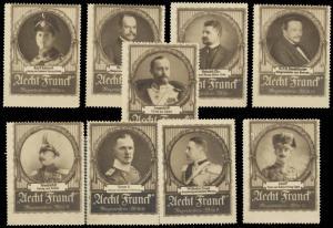 Regentenserie Aecht Franck Kaffee Sammlung