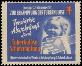 Verstärkte Abwehrkraft durch Tuberkulose Schutzimpfung.