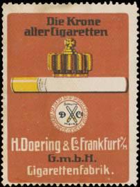 Die Krone aller Cigaretten
