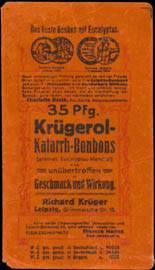 35 Pf. Krügerol Katarrh-Bonbons