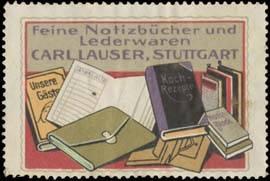 Feine Notizbücher und Lederwaren