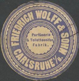 Parfümerie & Toiletteseifen-Fabrik Friedrich Wolff & Sohn