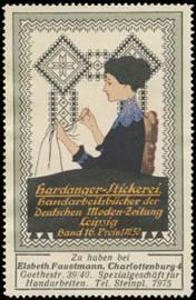 Hardanger-Stickerei-Handarbeitsbücher