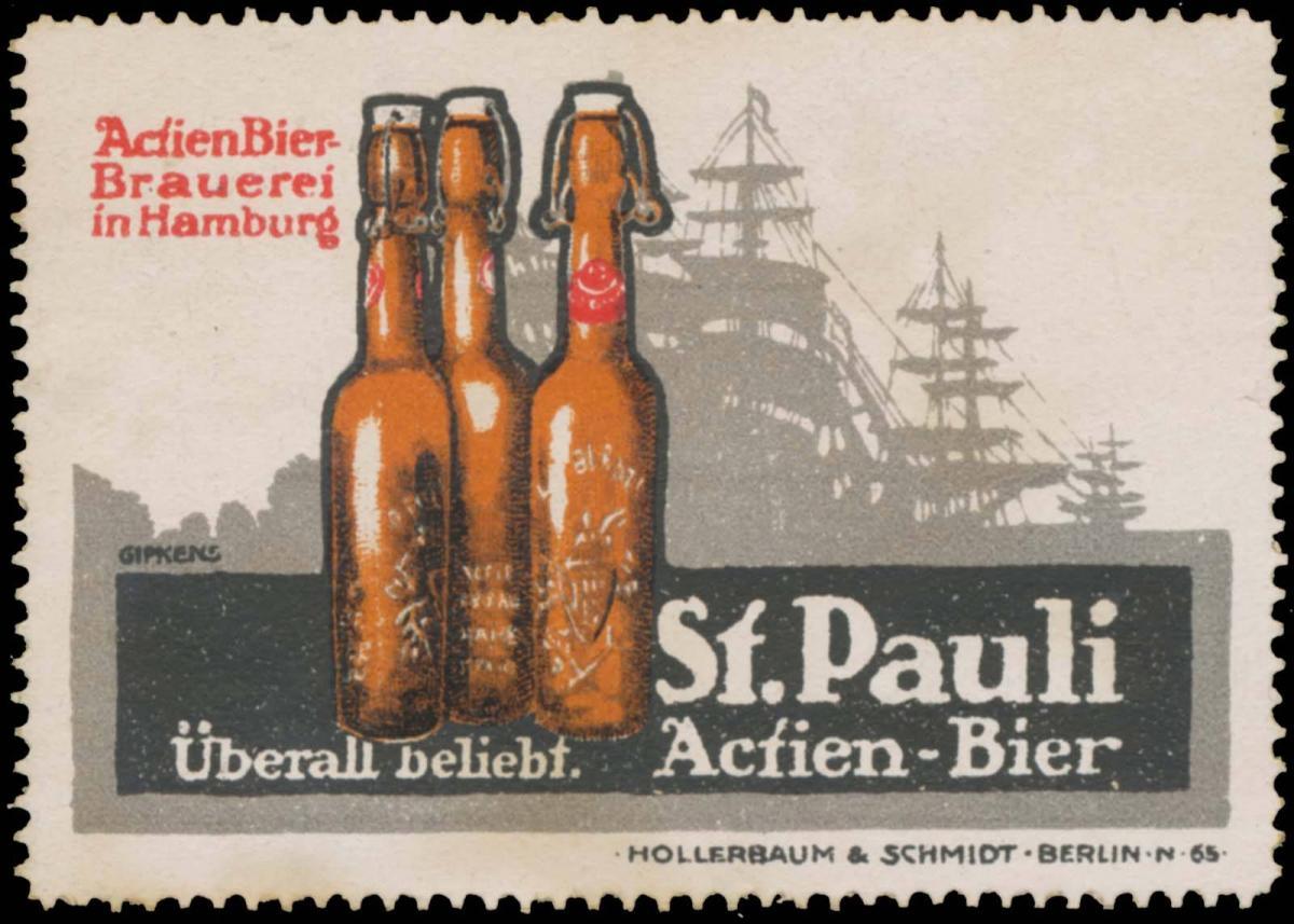 St. Pauli Actien-Bier