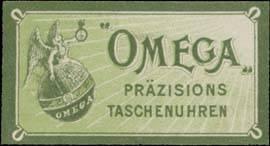 Omega präzisions Taschenuhren