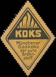 Münchener Gaskoks der gute Brennstoff
