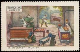 Backmehl-Mühlen