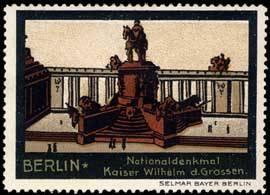 Nationaldenkmal Kaiser Wilhelm des Grossen
