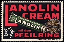 Lanolin Toilette - Creme mit dem Pfeilring