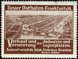 Neuer Hafen-Osthafen Frankfurt am Main