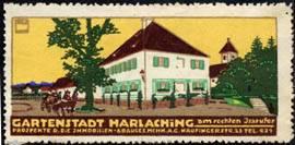 Gartenstadt Harlaching am rechten Isarufer