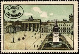 Königlich Fachingen - Berlin Brandenburger Tor