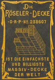 Röseler-Decke - Hausbau